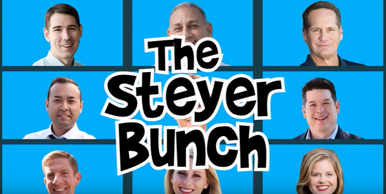 Tom Steyer: Rich, Entitled, and Forcing his Agenda on America