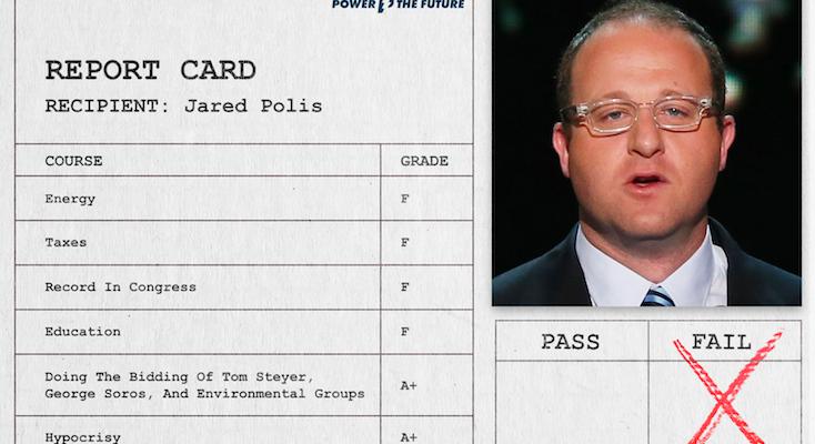Polis' Failing Grades Are Bad News For Colorado