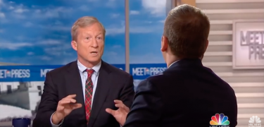 Tom Steyer Hit With A Question He Can't Answer
