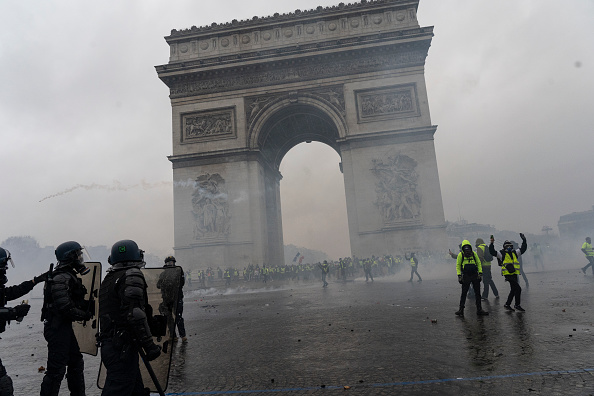"Riots Turn Paris ""Into A Battle Zone"" As Fury Against France's Carbon Tax Hikes Grows"