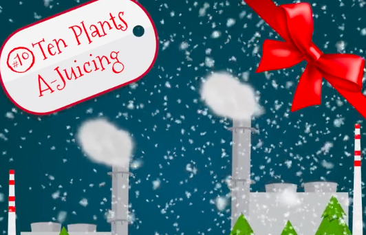 On The Tenth Day Of Christmas My Country Gave To Me: Ten Plants A-Juicing