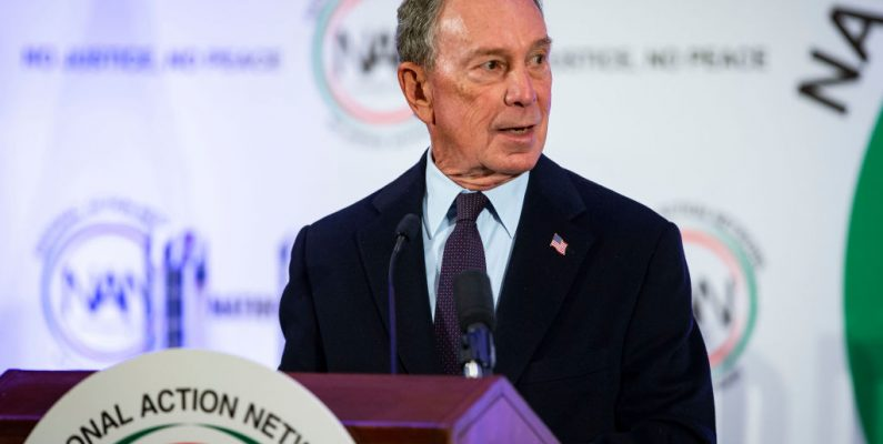 Michael Bloomberg Plans To Make Global Warming the Linchpin of His Campaign