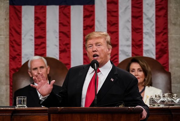 """President Trump Touts American Energy """"Revolution"""" In State Of The Union Speech"""