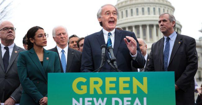 Four Leftist Senators Say NO To The Green New Deal