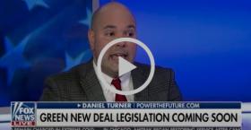 PTF's Daniel Turner Talks Green New Deal On Tucker Carlson