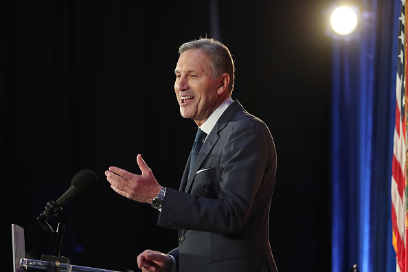 Howard Schultz Takes Another Swipe At The Green New Deal