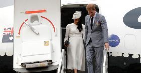 "So-Called Enviros Meghan Markle and Prince Harry Under Fire For ""Gaz-Guzzling"" Flights"