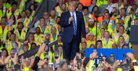 President Trump Touts Energy Independence In Pennsylvania