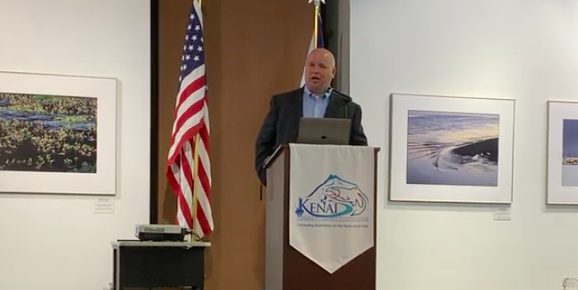 Alaska State Director Rick Whitbeck Speaks To Kenai/Soldotna Chamber of Commerce