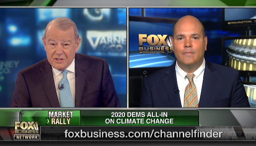 Daniel Turner on Fox Business: 2020 Democratic candidates go all-in on climate change plans