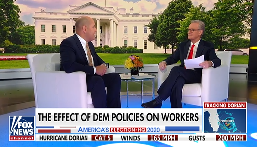 "Daniel Turner joins Fox and Friends to discuss what Dems' ""green"" plans would do to American workers"
