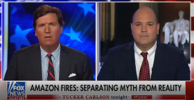Daniel Turner Joins Tucker Carlson to Discuss Liberals' Misleading Narrative on the Amazon Fires