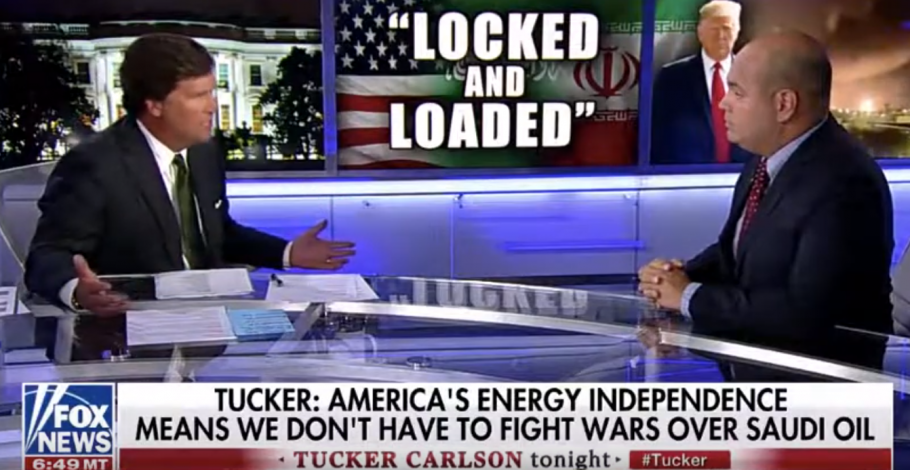"""Daniel Turner Discusses """"No Blood for Oil"""" on Tucker Carlson"""