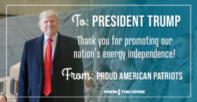 Nearly 6,000 Proud American Patriots Say Thank You to President Trump