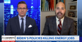 Daniel Turner Joins Newsmax to Talk about Biden's Job-Killing Energy Policies