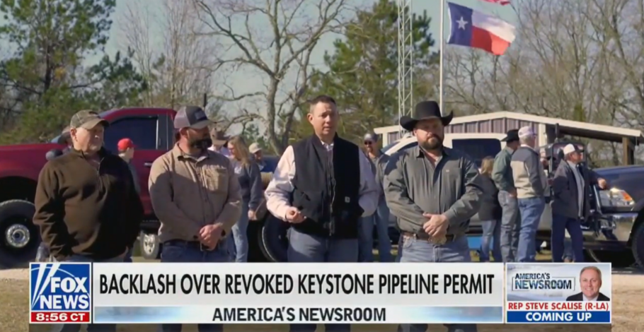 Daniel Turner Joins Fox News to Share what He Learned Visiting Laid Off Keystone Pipeline Workers