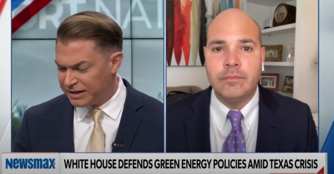 Daniel Turner Discusses the Texas Green Energy Failure on Newsmax
