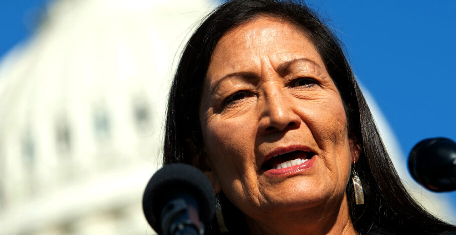 "Interior Nominee Deb Haaland Claims She'll Strike ""the Right Balance"" If Confirmed. Psht."