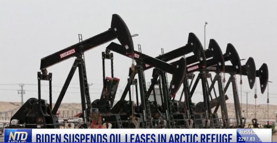 Biden Suspends Oil Leases in Arctic Refuge